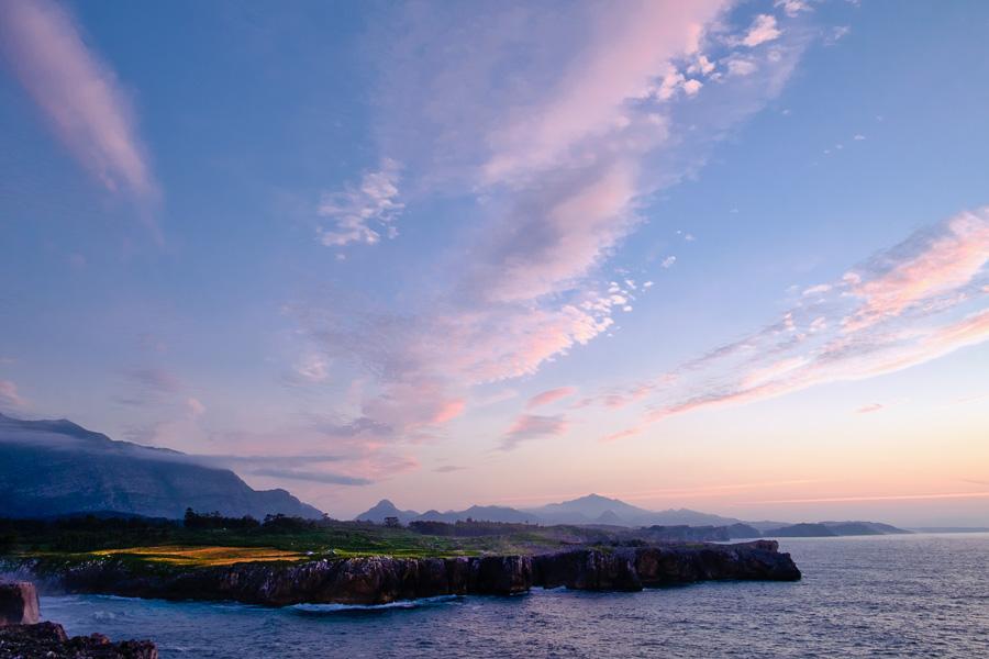 Landscape photo taken in Asturias, Spain, processed in Luminar