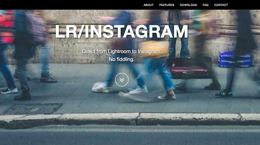 LR/Instagram plugin website