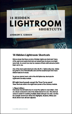 14 Hidden Lightroom Shortcuts