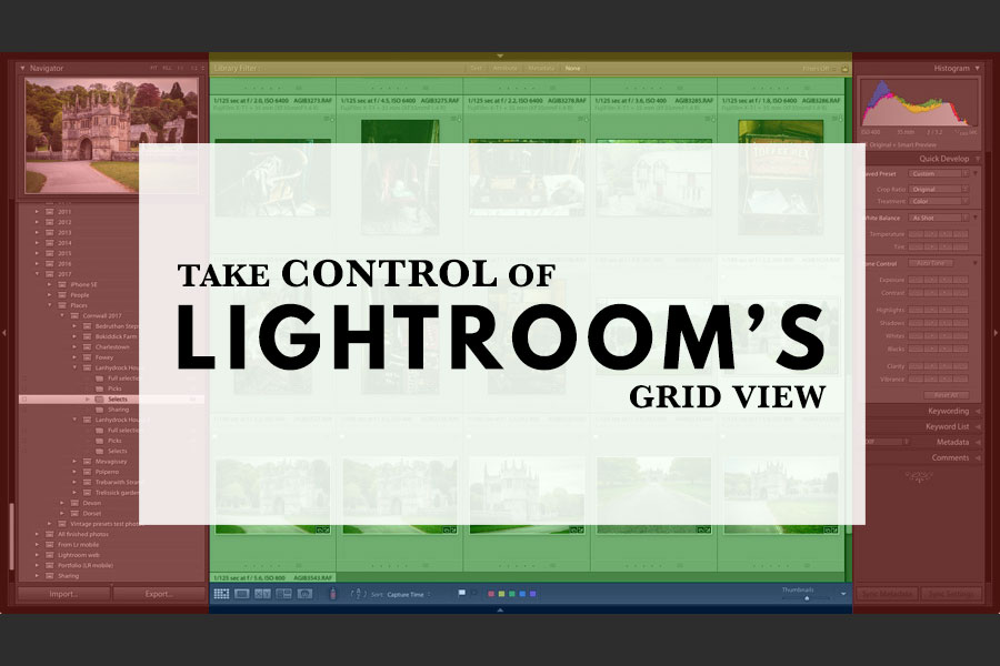 Take Control of Lightroom's Grid View