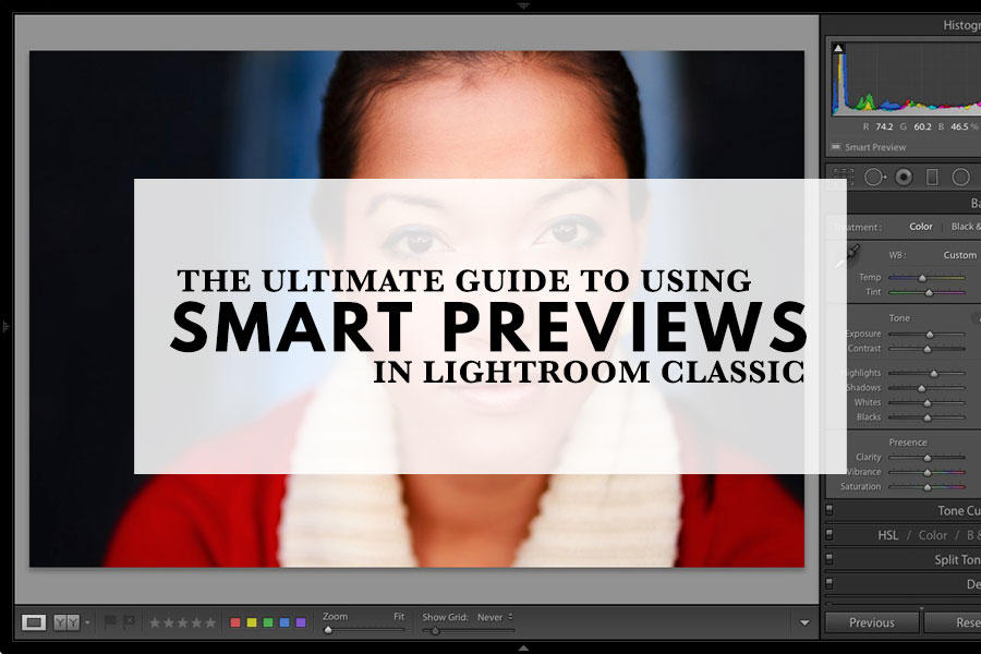 The Utimate Guide to Using Smart Previews in Lightroom Classic