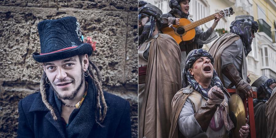 Cadiz carnival portraits