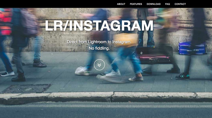 LR/Instagram plugin website