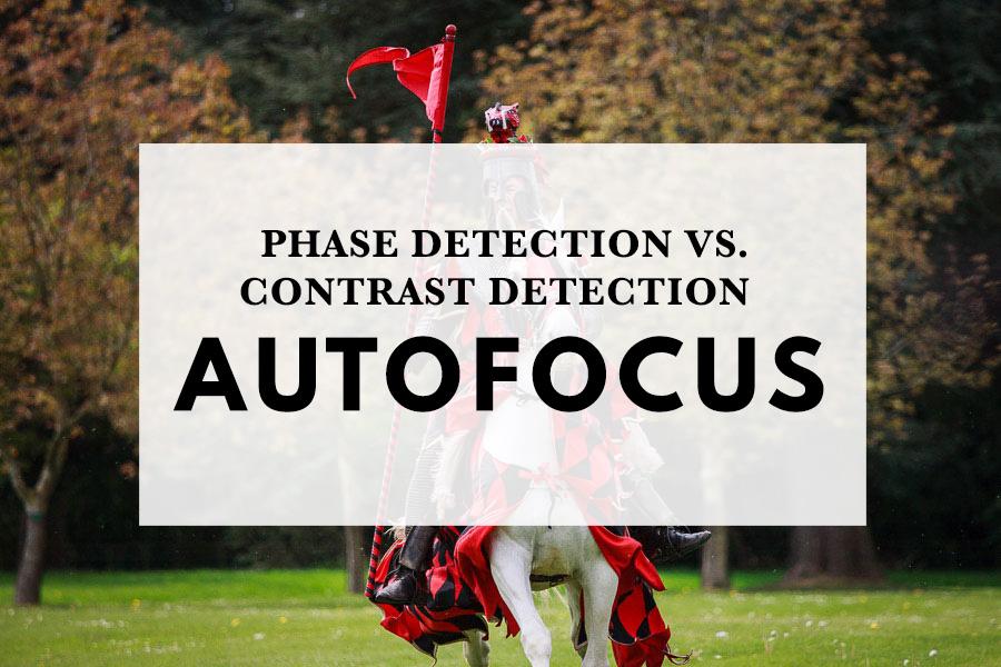 Phase detection vs contrast detection autofocus