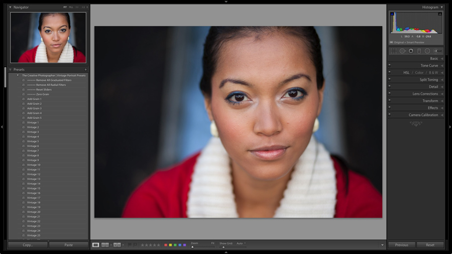 How to Develop Portraits in Lightroom