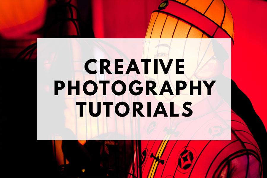 Creative photography tutorials