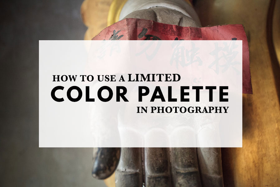 How to use a limited color palette in photography