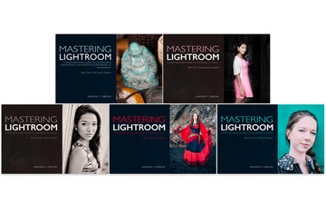 Mastering Lightroom five ebook bundle