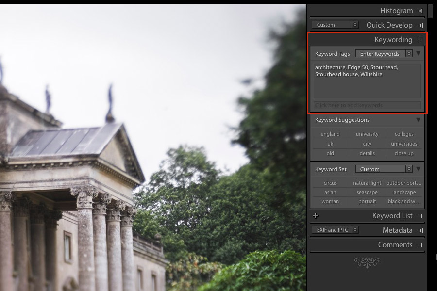 Lightroom benefits