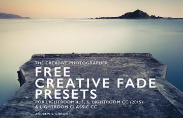Free Creative Fade Presets for Lightroom
