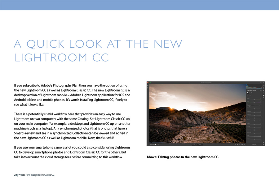 What's New In Lightroom Classic CC?