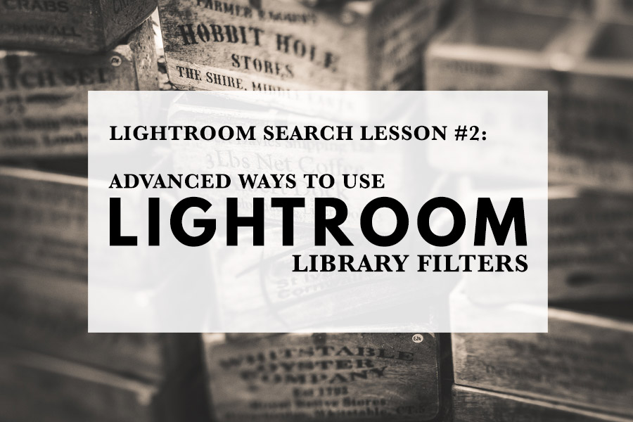how to search in library module in lightroom