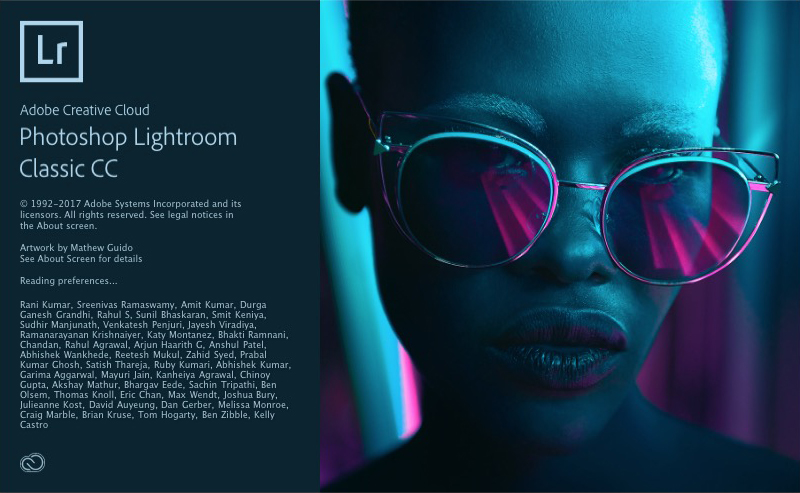 Lightroom versions