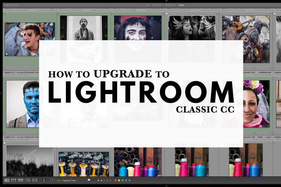 How To Upgrade To Lightroom Classic CC