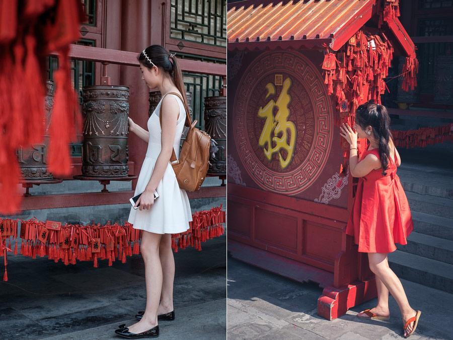 Beijing street portraits