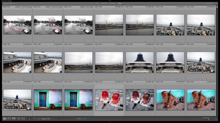 how to mass delete lightroom