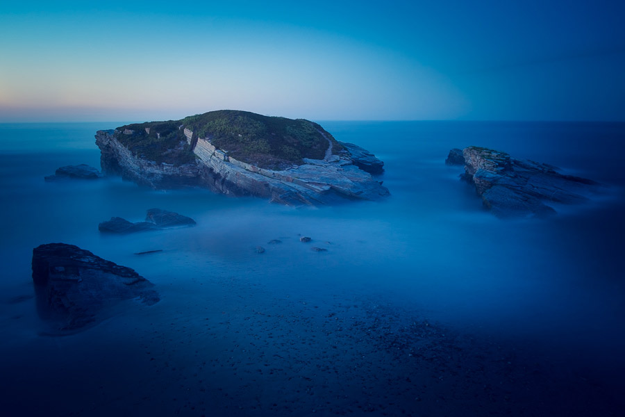 Blue hour in photography