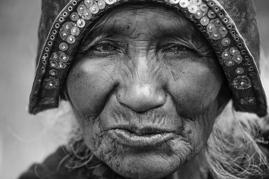 Character portrait of woman in Bolivia