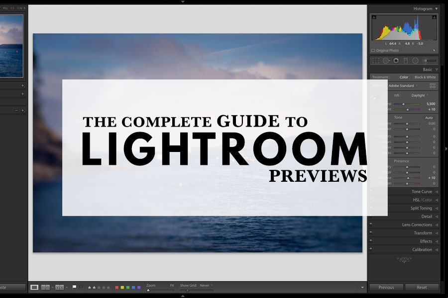 The Complete Guide To Building Lightroom Previews