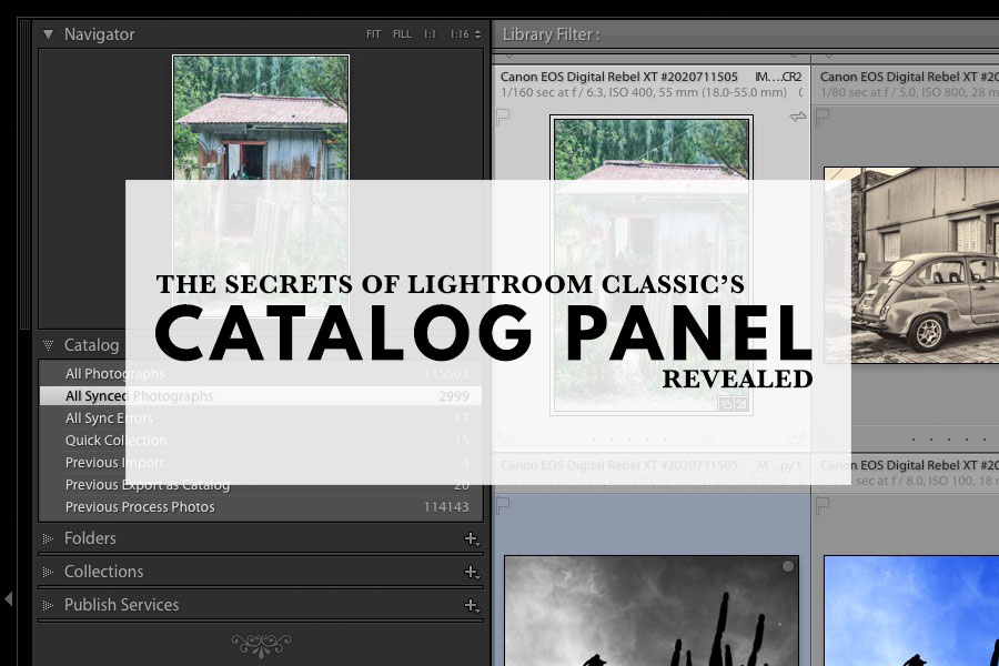 The Secrets Of Lightroom Classic's Catalog Panel Revealed