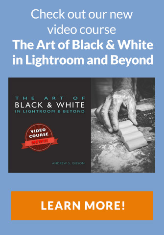 Black and white in Lightroom video course