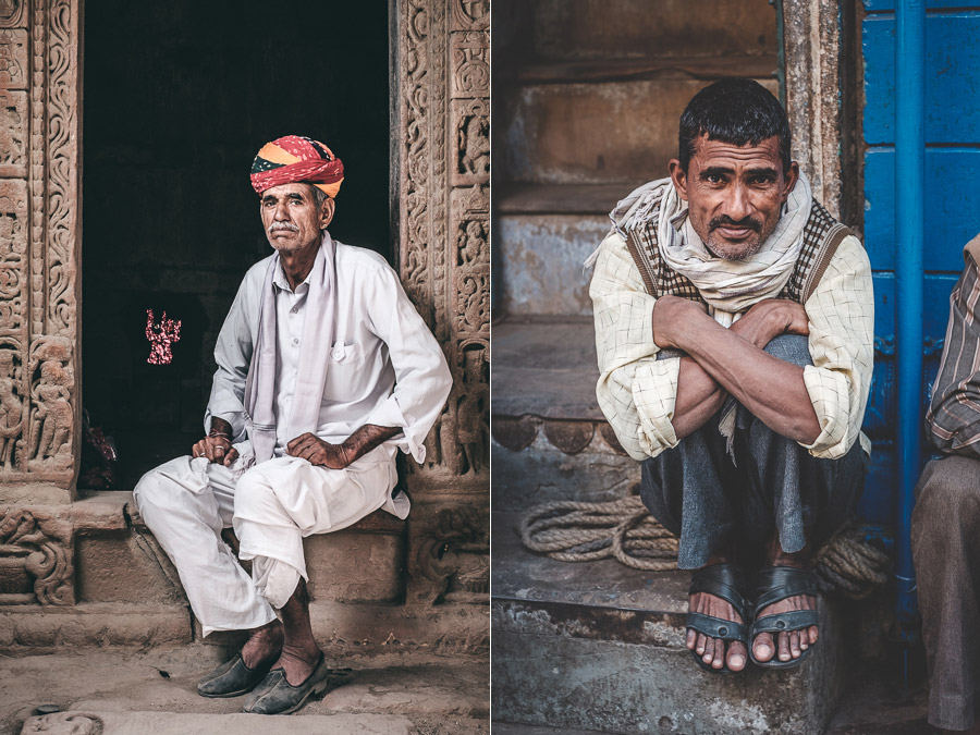 Depth and composition in portrait photography