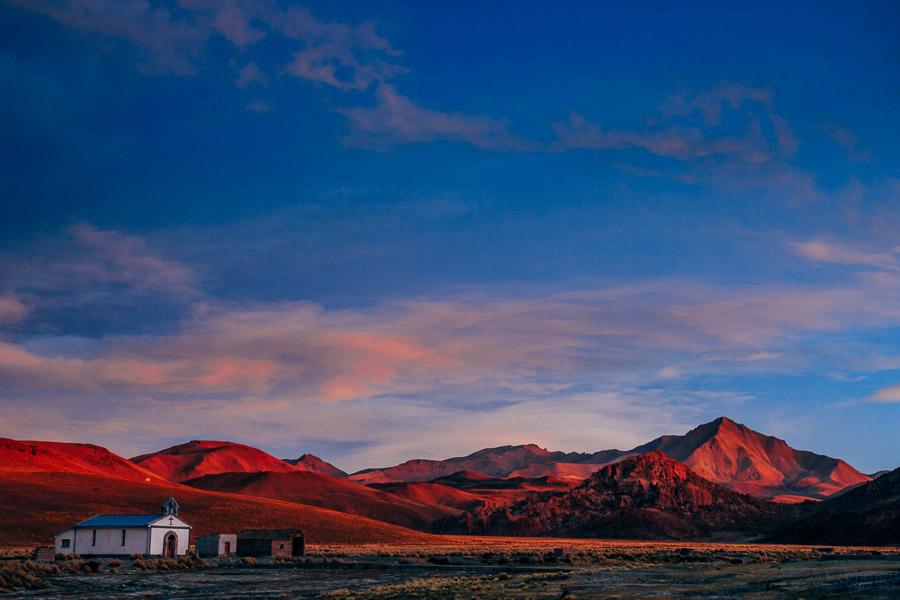 Better landscape photos at golden hour