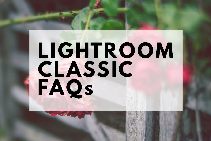 Lightroom Classic CC FAQs | The Creative Photographer
