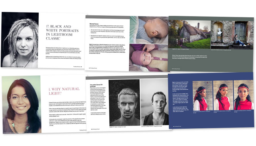 The Natural Portrait ebook inside pages