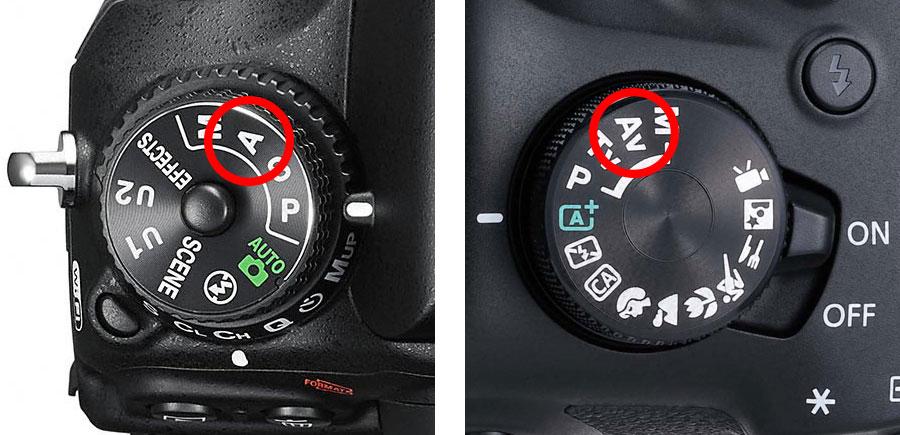 Mode dials