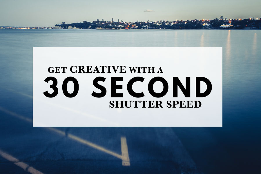 Get Creative With A 30 Second Shutter Speed