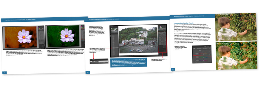 Mastering Lightroom Classic Develop Module ebook inside pages