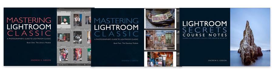 Lightroom Classic & Lightroom Secrets Course Notes bundle