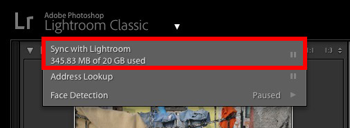 Synced Collections Lightroom Classic