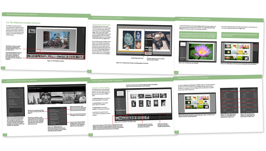 Mastering Lightroom Classic: Book Three – The Other Modules inside pages