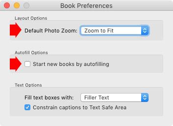 Book module preferences