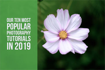 Our Ten Most Popular Photography Tutorials In 2019