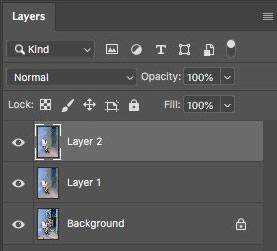 Layers panel Photoshop