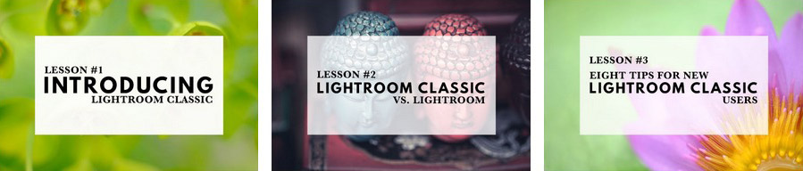Mastering Lightroom Classic email course