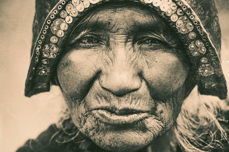 Lith portrait Exposure X5